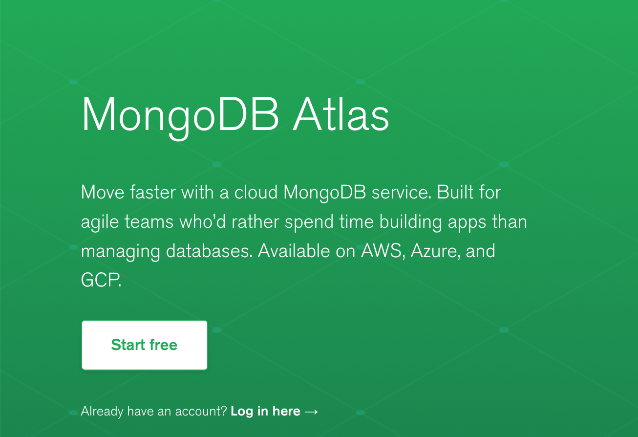 【图文教程】新手友好的MongoDB云数据库Atlas如何使用?